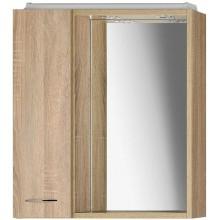 ZOJA/KERAMIA FRESH galerka s LED osvětlením, 60x60x14cm,dub platin 45027