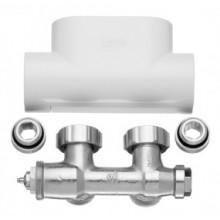 Kermi ventilový blok, rohový, krytka bílá ZV00410001