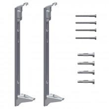 Kermi Sada stěnových konzolí pro montáž deskových otopných těles Profil typ 12, 22 a 33, výška 400 mm ZB02970002