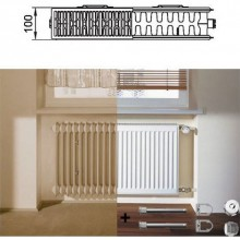 Kermi Therm X2 Profil-Kompakt deskový radiátor pro rekonstrukce 22 554 / 1400 FK022D514