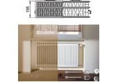 Kermi Therm X2 Profil-kompakt deskový radiátor pro rekonstrukce 33 554 / 1200 FK033D512