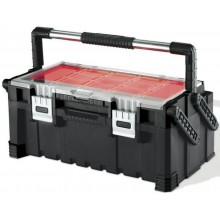 """KETER CANTILEVER kufr na nářadí 22"""" 57x31x25cm černý 17187311"""