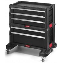 KETER Box na nářadí 5 zásuvek 56x29x50cm černý 17199301