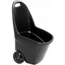 KETER EASY GO XL 62L vozík, černá 17190643