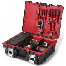 KETER TECHNICAN BOX kufr na nářadí 48x18x38cm černý/červený 17198036