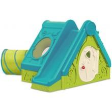 KETER FUNTIVITY PLAYHOUSE dětský domek, zelená/modrá 17192000