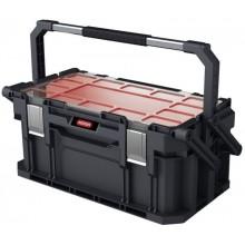 "KETER CONNECT CANTILEVER box s organizérem 22"" 57x32x25cm černý/červený 17203104"