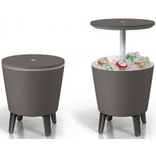 VÝPRODEJ KETER Cool Bar Chladicí stolek šedý POŠKRÁBANÝ 17186745