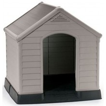 KETER DOG HOUSE Bouda pro psy 95 x 99 x 99 cm, šedá 17360369