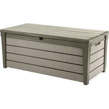 KETER BRUSHWOOD 455L zahradní úložný box 145 x 69,7 x 60,3 cm, šedohnědý 17202631