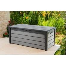 KETER BRUSHWOOD Storage zahradní úložný box, 455 l, šedá 17202631