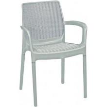 KETER BALI Mono zahradní židle, 55 x 60 x 83 cm, bílá 17190206