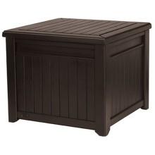 KETER CUBE WOOD 208L zahradní úložní box/stůl 72,2 x 71 x 59 cm, hnědá 17199851