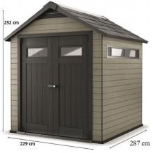 KETER FUSION 759 zahradní domek, antracit 17201218