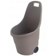 KETER EASY GO vozík, 55 l, šedá, 17182462