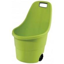 KETER EASY GO vozík, 55 l, světle zelená, 17182462