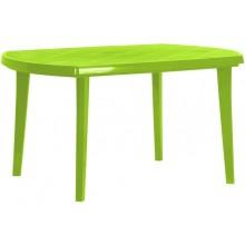 CURVER ELISE stůl 137 x 90 x 73 cm, světle zelená 17180054