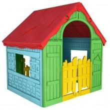 KETER FOLDABLE PLAY House dětský domek, žlutá/červená/modrá 17202656