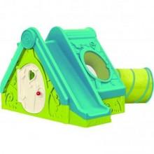 KETER FUNTIVITY PLAYHOUSE dětský domek, zelená/tyrkysová 17192000