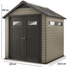 KETER FUSION 757 zahradní domek, antracit 17199845