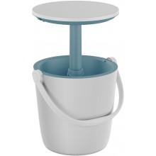 KETER GO BAR Multifunkční stolek, 37 x 60 cm, bílý/modrý 17209508