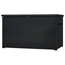 KETER JAVA 850L úložný box ratan 147 x 82 x 86 cm, antracit 17204486