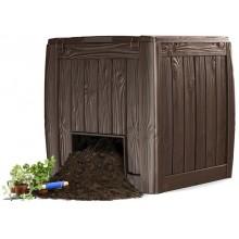 KETER DECO kompostér 340l, s podstavcem, hnědý, 17196661