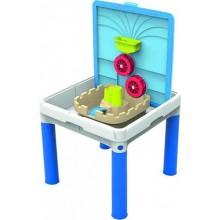KETER SAND & WATER ACTIVITY Table kreativní stolek, modrá/bílá 17203232