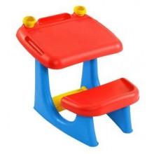 KETER SIT & DRAW stoleček na malování, červeno/modrá 17182806