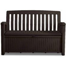 KETER PATIO BENCH úložná lavice 138,6 x 63,5 x 88 cm 227 L,hnědá 17202690