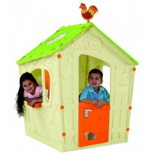 KETER MAGIC PLAYHOUSE dětský domek, krémová/zelená 17185442