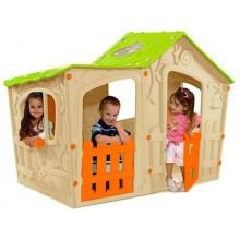 KETER MAGIC VILLA dětský domek, béžová/zelená 17190655