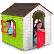KETER RANCHO PLAYHOUSE dětský domek, zelená/hnědá 17609669