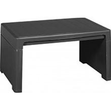 KETER LAGO LOUNGE odkládací stůl, 60 x 40 x 30 cm, grafit 17186171