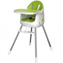 CURVER MULTI DINE dětská stolička, zelená/béžová 17202333