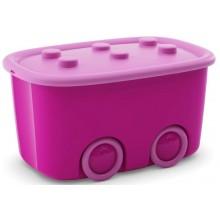 KIS FUNNY BOX L 46L 58x38,5x32cm růžový