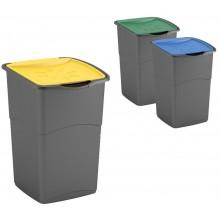 KIS KORAL 3x47L Set 3 odpadkových košů pro recyklaci