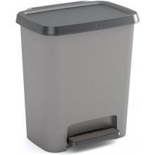 KIS COMPATTA 30L odpadkový koš 38x28x43cm šedý