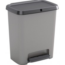 KIS COMPATTA RECYCLING 20+20L odpadkový koš 38x28x43cm šedý