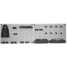 KIS Organizer na nářadí 50 x 7 x 31 cm (2x), grey/black 9600000