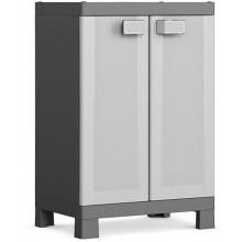KIS LOGICO LOW skříň 65x45x97cm grey/black