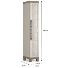 KIS EXCELLENCE HIGH 1 DOOR skříň 33x45x182cm beige