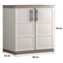 KIS EXCELLENCE XL LOW skříň 89x54x93cm béžová