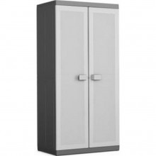 KIS LOGICO XL UTILITY skříň 89x54x182cm grey/black