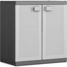 KIS LOGICO XL LOW skříň 89x54x93cm grey/black
