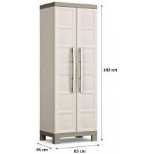 KIS EXCELLENCE HIGH Skříň 65x45x182cm beige 9708000
