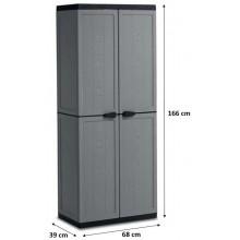 KIS JOLLY HIGH skříň 68x39x166cm dark grey 9732000