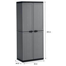 KIS JOLLY UTILITY skříň 68x39x166cm dark grey