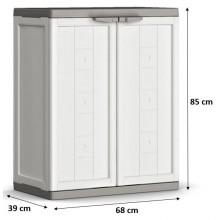 KIS JOLLY LOW skříň 68x39x85cm white 9733000