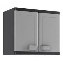 KIS LOGICO WALL skříň 65x39x56,5cm grey/black